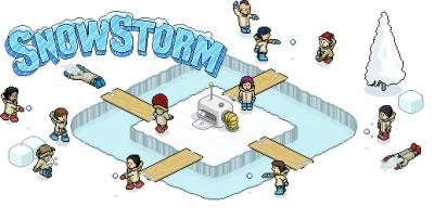 Habbo snowstorm