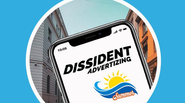 Illustration Dissident Ads blog